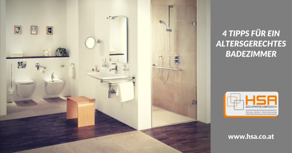 Mit diesen 4 Tipps zum altersgerechten Badezimmer