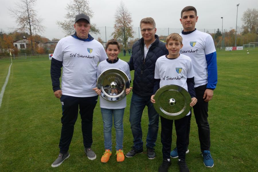 Sponsoring für die Jugend SV Sierndorf