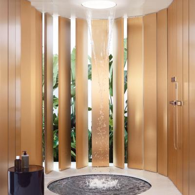 Duschen in einer neuen Dimension: Aquamoon von Dornbracht